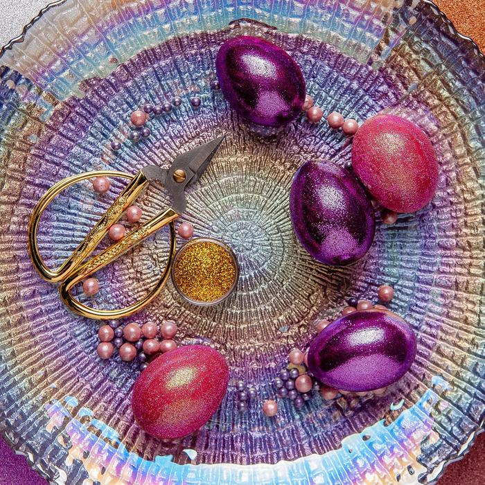Набор для украшения яиц с жидкими красителями «Жемчужное сияние»