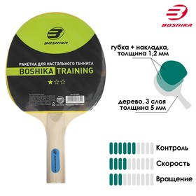 Ракетка для настольного тенниса BOSHIKA Training Ош