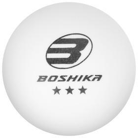 Мяч для настольного тенниса BOSHIKA Premier 3*** Ош