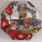 Зонт автоматический «Города и цветы», 3 сложения, 8 спиц, R = 50 см, цвет МИКС - Фото 11