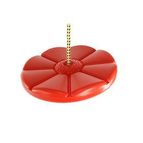 Пластиковые качели-диск Лиана Kampfer S04-112, цвет красный Ош