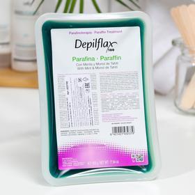 Парафин косметический Depilflax, ментол, 500 г