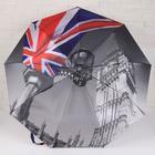 Зонт полуавтоматический «Города», 3 сложения, 9 спиц, R = 49 см, цвет МИКС - Фото 7