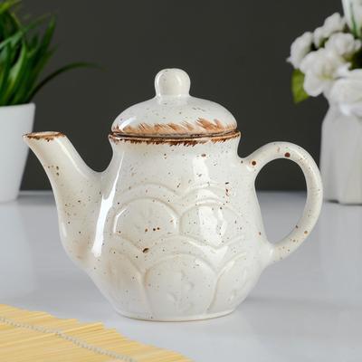 "Чайник ""Мрамор"" малый, 0,3л - Фото 1"