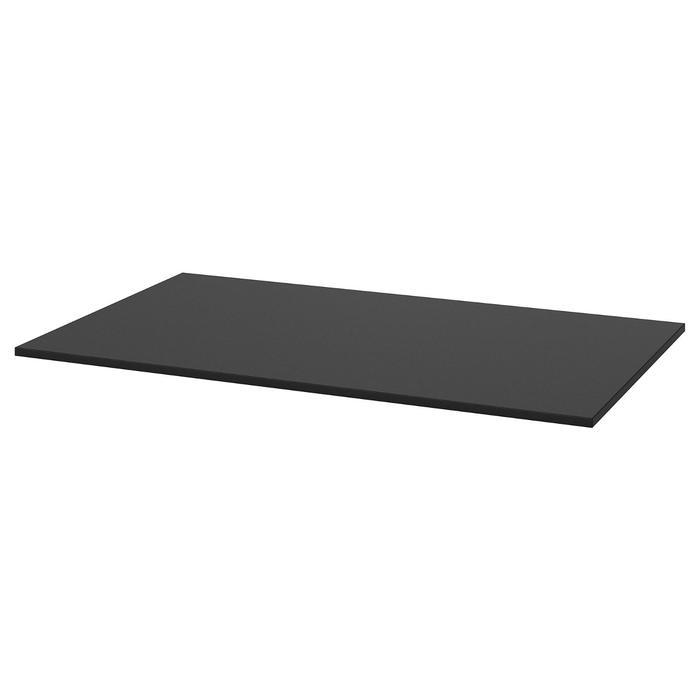 TÄRENDÖ ТЭРЕНДО Столешница, черный110x67 см