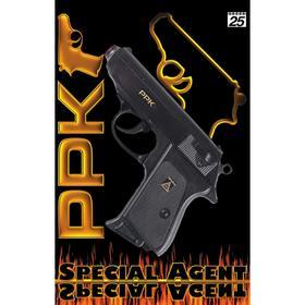 Пистолет Special Agent PPK 25-зарядные Gun, 158 мм