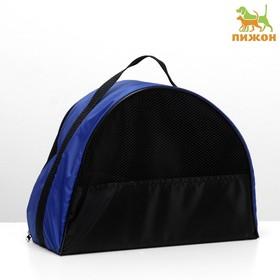 Сумка-переноска малая 36 х 17 х 25 см, оксфорд, синяя Ош