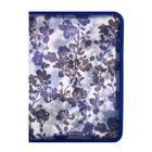 Папка д/тетрадей А4 молния вокруг пластик ErichKrause дев Crystal Flowers 52862