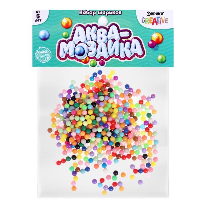 Аквамозаика «Набор шариков», 500 штук
