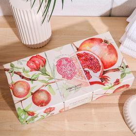 Набор мыла La Florentina Pomegranate / Гранат 3*150 г