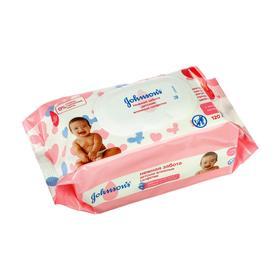Влажные салфетки детские Johnson's Baby Нежная забота, 120 шт.