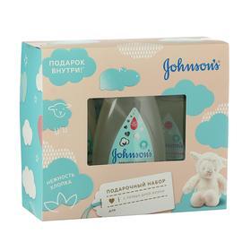 Набор Johnson's Baby детское молочко 200 мл + детское масло 200 мл + шампунь-пенка 300 мл