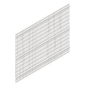 Панельное ограждение ПРЕГРАДА 2,7х1,74 м, ячейка 55х235 мм, d прута-3мм, цвет шоколад Ош