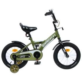 Велосипед 14' Graffiti Storman, цвет хаки Ош