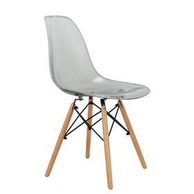 Стул Eames, 550 × 460 × 810 мм, цвет прозрачный серый