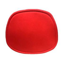Подушка для стульев серии Eames 400 × 340 × 15 мм, ткань, цвет красный