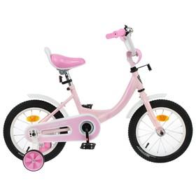 Велосипед 14' Graffiti Fashion Girl, цвет розовый Ош