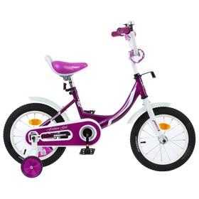 Велосипед 14' Graffiti Fashion Girl, цвет бордовый Ош