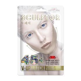 """Гидрогелевая ультралифтинг-маска Estelare SCULPTOR """"Контурное моделирование"""" 45+  11 г"""