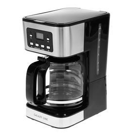 Кофеварка Galaxy LINE GL 0710, капельная, 1100 Вт, 1.8 л, черная Ош