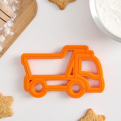 Форма для печенья и пряников Леденцовая фабрика «Грузовик», 11,5×7,5×1,5 см - Фото 1