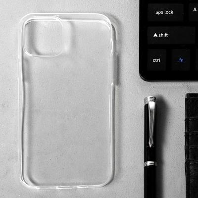 """Чехол LuazON для iPhone 12/12 Pro, 6.1"""", силиконовый, тонкий, прозрачный - Фото 1"""