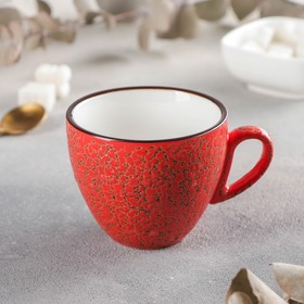 Кофейная чашка Wilmax England Splash, 190 мл, цвет красный
