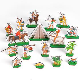 Игровой набор «Ацтеки» 34 предмета