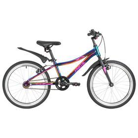 """Велосипед 20"""" Novatrack Prime, 2021, цвет фиолетовый"""