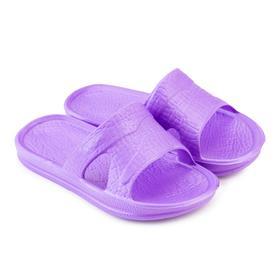 Сланцы детские «СТЭП» цвет фиолетовый, размер 33-34 Ош