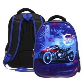купить Рюкзак каркасный Calligrata Speed bike 39х30х14 см