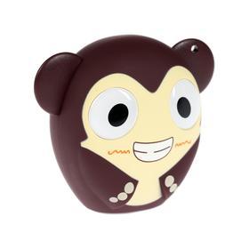 Портативная колонка  Hiper ZOO Music Monkey, BT, 3 Вт, Micro-USB, 400 мАч, коричневая
