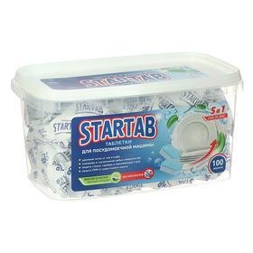 Таблетки для посудомоечных машин StarTab, 100 шт