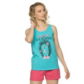 Комплект женский, размер XXS, цвет бирюза Ош