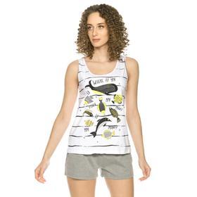 Комплект женский, размер XXS, цвет белый Ош