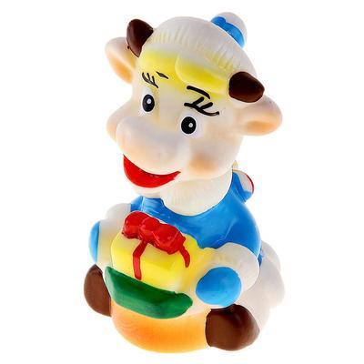 Резиновая игрушка «Коровка» - Фото 1