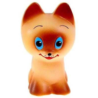 Резиновая игрушка «Котёнок Тошка», МИКС - Фото 1