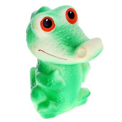 Резиновая игрушка «Крокодил» - Фото 1