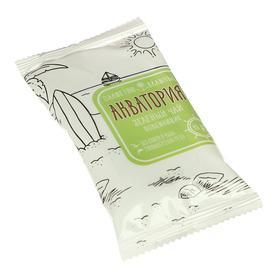 Влажные салфетки «Акватория», зелёный чай, освежающие, 15 шт Ош