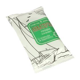 Влажные салфетки «Акватория», ромашка, освежающие, 15 шт Ош