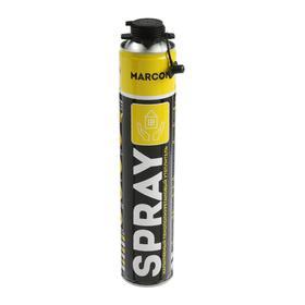 Утеплитель напыляемый MARCON SPRAY PROF, пенополиуретановый, 1000 мл Ош
