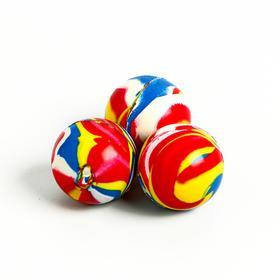 Мяч каучуковый «Перелив», 3,2 см Ош