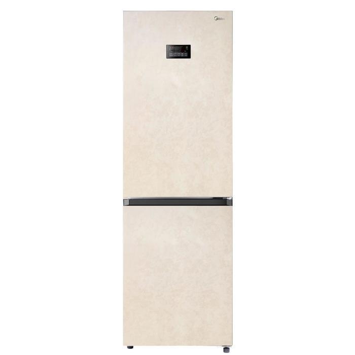 Xолодильник Midea MRB519SFNBE5, двухкамерный, класс А++, 360 л, Full No Frost, бежевый