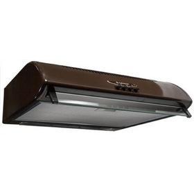 Вытяжка Gefest ВО-2501 К47, плоская, 300 м3/ч, 3 скорости, 50 см, коричневая