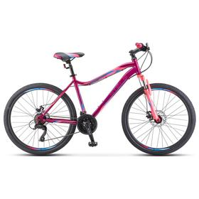 "Велосипед 26"" Stels Miss-5000 MD, K010, цвет фиолетовый/розовый, размер 18"""