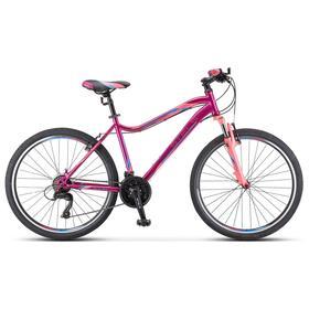"Велосипед 26"" Stels Miss-5000 V, K010, цвет фиолетовый/розовый, размер 18"""