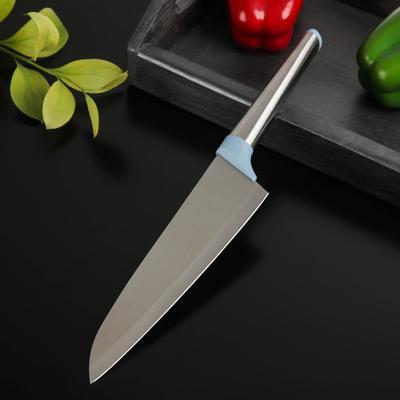Нож Cloud, шеф, лезвие 20 см, цвет МИКС - Фото 1
