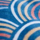 Покрывало-плед с рукавами Радуга, 140х180см - Фото 2