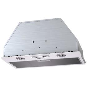 Вытяжка KRONA RUNA 600 white S, встраиваемая, 650 м3/ч, 3 скорости, 60 см, белая
