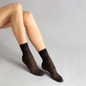 Носки женские, цвет чёрный (nero), р-р 23-25 (37-40)